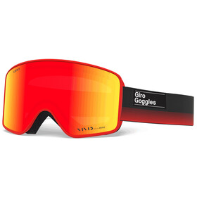 Giro Method Gafas, black red label/vivid ember/vivid infrared